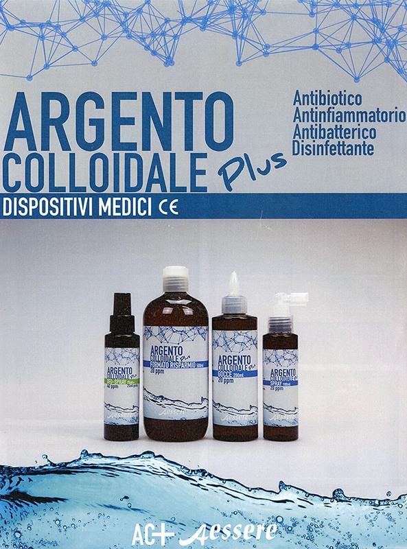 Argento Colloidale Plus Gocce - 20 PPM