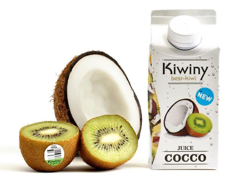 Succo Kiwiny Juice - Cocco e Kiwi