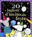 20 Biglietti d'Invito alle Feste