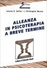 Alleanza in Psicoterapia a Breve Termine Jeremy D. Safran J. Christopher Muran