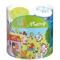 Aladine Baby Stamp - Animali della Fattoria