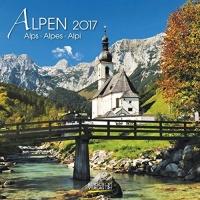 Calendario Alpi - Alpen 2017 Korsch Verlag