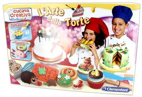 L 39 arte delle torte cucina creativa di clementoni for Arte delle torte clementoni