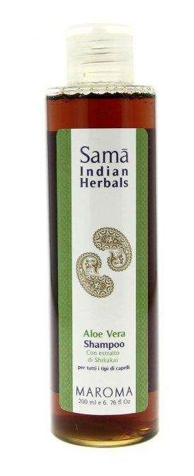 Sama shampoo all 39 aloe vera 200 ml maroma for Tipi di aloe