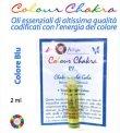 Colour Chakra Oil Blu 2 ml - Tranquillità, calma, comunicazione