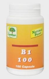 B1 100 - Tiamina - 100 Capsule - Natural Point