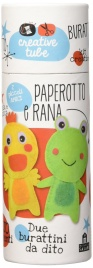 Burattini da Dito - Paperotto e Rana