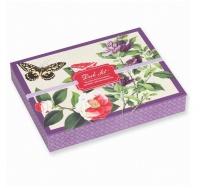 Scatola con Blocchetti e Penna - Desk Set Butterflies And Flowers - Winterthur Museum