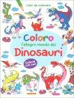 Coloro l'Allegro Mondo dei Dinosauri