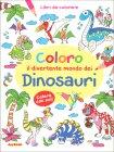 Coloro il Divertente Mondo dei Dinosauri