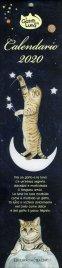 Calendario 2017 - Il Gatto e la Luna - Formato Piccolo