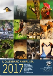Calendario da Muro Animalista 2017