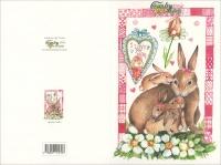 Countrycard - I Love You Mom Conigli