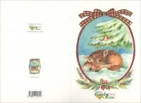 Countrycard - Moon Natale Cerbiatto