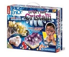 Crea i tuoi cristalli focus junior clementoni for Crea i tuoi progetti