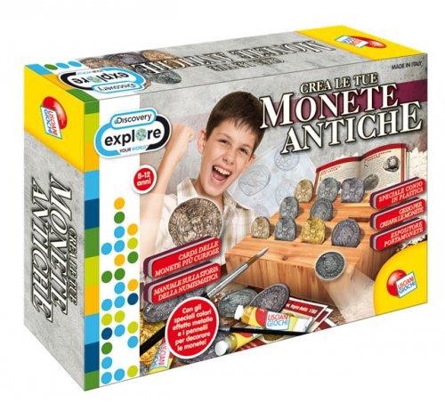 crea le tue monete antiche lisciani giochi
