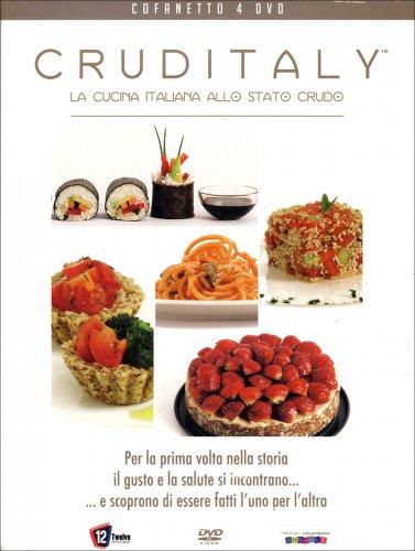 Cruditaly la cucina italiana allo stato crudo 4 dvd di for Sito cucina italiana
