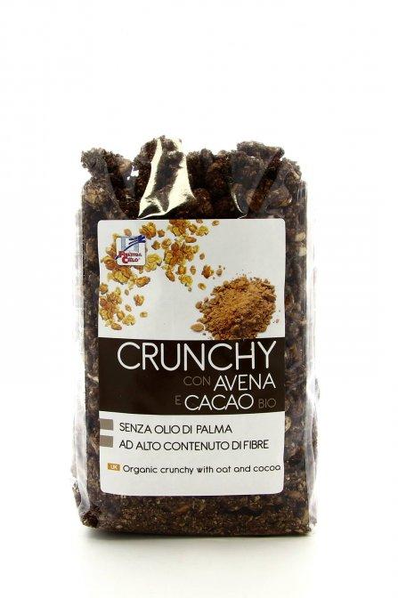 Crunchy con avena e cacao bio la finestra sul cielo - Finestra sul cielo ...