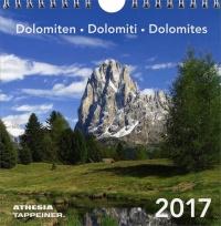 Calendario da Tavolo Dolomiti 2017
