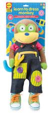 Impara a Vestirti con Monkey - Alex