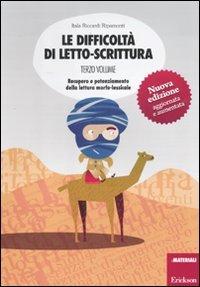 Le difficolt di letto scrittura vol 3 itala riccardi ripamonti - Letto scrittura schede ...
