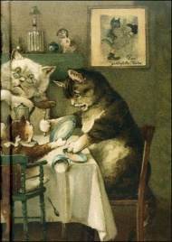 La Famiglia dei Gatti - Cat Family Desk Notebook