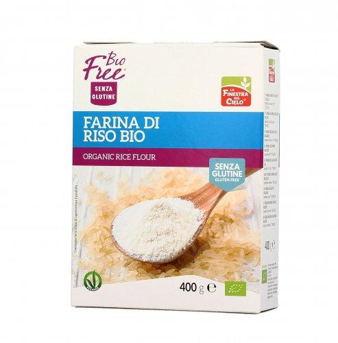 Bio free farina di riso senza glutine biofree - La finestra sul cielo interiore ...
