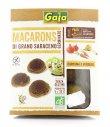 Macarons di Grano Saraceno con Curcuma e Verdure Bio