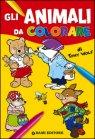 Gli Animali da Colorare Tony Wolf