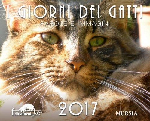 Calendario da tavolo 2017 i giorni dei gatti - Calendario 2017 da tavolo ...