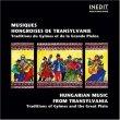 Hungarian Music from Transylvania
