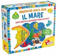 Il Mare - Creatività con il Mais - 3/6 Anni Lisciani Giochi