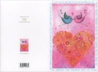 Happycard - Ti Amo Uccellini & Cuore