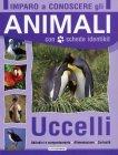 Imparo a Conoscere gli Animali con Schede e Identikit, Uccelli - Lito Editrice