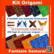 Kit Origami - Samurai Pasquale D'Auria