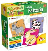 Carotina La Mia Fattoria - Tessere a Incastro - 3/6 Anni Lisciani Giochi