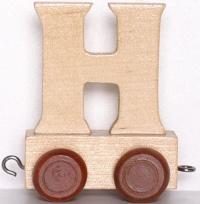 Lettera H per Trenino - Legler