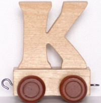 Lettera K per Trenino - Legler