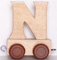 Lettera N per Trenino - Legler
