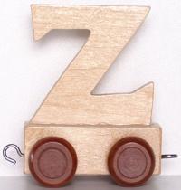 Lettera Z per Trenino - Legler
