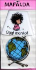 Lampada Adesiva Decorativa - Mafalda