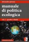 Manuale di Politica Ecologica Alessandro Pirrone