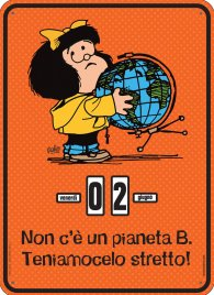 Mafalda Troooppo Sexy! - Calendario Perpetuo
