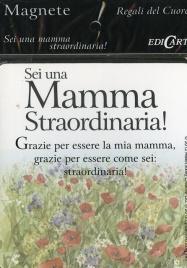 Magnete Sei una Mamma Straordinaria!