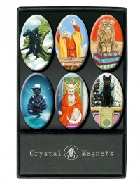Magneti Gatti - Crystal Magnets Cats