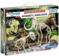 Archeogiocando: Mammut & Smilodon Clementoni