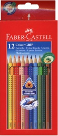 Matite Colorate Colour Grip - 12 Pz.