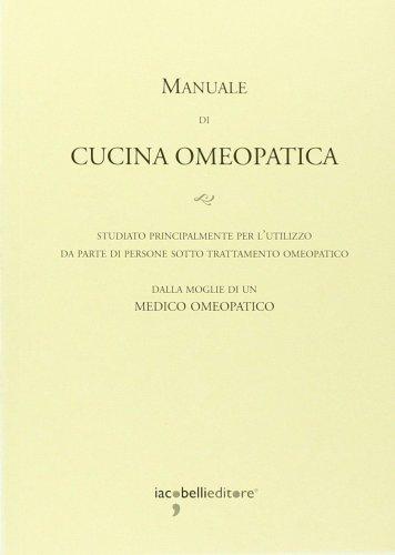 Manuale di cucina omeopatica - Manuale di cucina professionale pdf ...