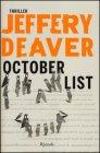 October List - Jeffery Deaver