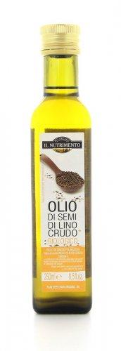 Olio di lino crudo biologico il nutrimento for Olio di lino crudo